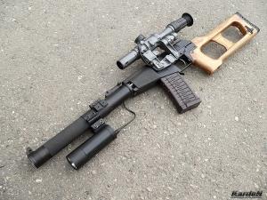 Винтовка снайперская специальная всс